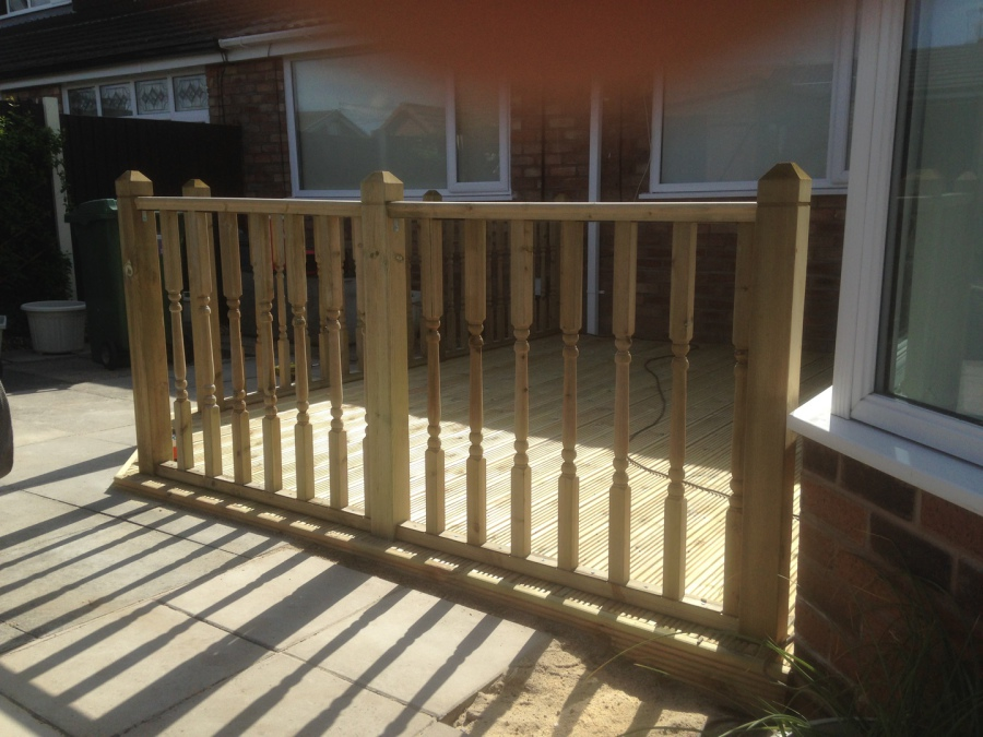 Decking for Tanalised decking boards